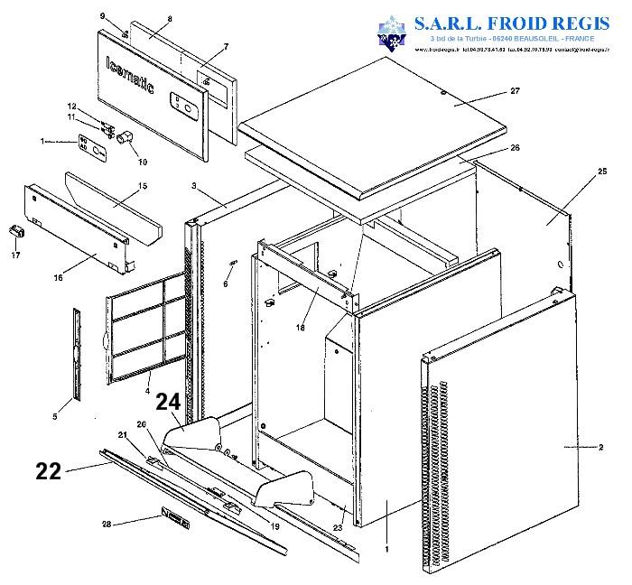 spare parts for ice maker icematic n25bi n25lbi n35bi